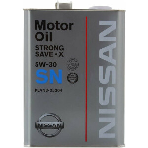 Масло моторное NISSAN Strong Save X SN 5W30 4л.